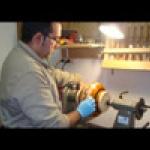 GerardoArtesano Tornero en madera segmentada y p