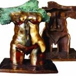 Escultor. Juan WaelderLas esculturas recientes c