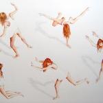 Pintora. Scala Floriane. Mujeres contra la viole