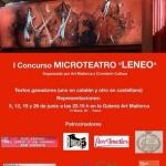 """Se convoca el I Concurso de Microteatro """"LENEO""""1"""