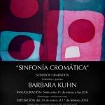 Sinfonía Cromática de la artista Barbara KuhnU