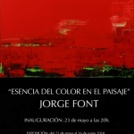 Esencia del color en el paisaje de Jorge FontIna