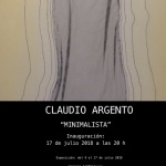 """""""Minimalista""""Abrimos hoy 9 de julio la nueva exp"""