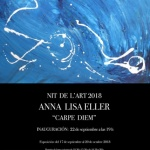"""Carpe Diem"". Anna Lisa EllerLa NitdelArt 2018,"