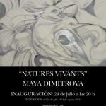 Natures VivantsInauguración 24 de julio a las 2