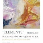 ELEMENTSLa galeria Artmallorca tiene el placer d