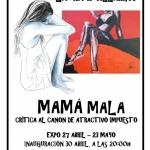 """mamá mala"" de la artis""Mata Laura R. Villarino"