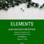 Inauguración: ELEMENTS del grupo artístico BC-