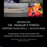 """Exposición """"D2 Paisaje y Poesía""""ArtMallorca y"""