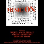 """MUSIC ON""El próximo lunes 18 de abril abrimos"