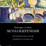 Homenage a la artista SILVIA GRAEFENHAIMHomenage