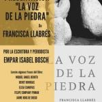 """Presentación del libro """"La voz de la piedra""""El"""